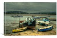 Welsh Maid of Conwy, Canvas Print