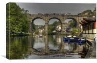 Knaresborough Viaduct, Canvas Print