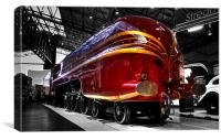 Streamlined for speed, Canvas Print