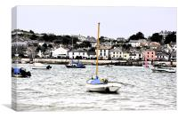 Appledore and Sea, Canvas Print