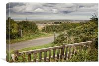Views over Brancaster Staithe, Canvas Print