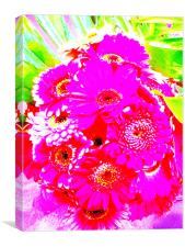 Purple Flower, Canvas Print
