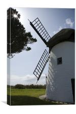 Tacumshane windmill, County Wexford, Ireland., Canvas Print