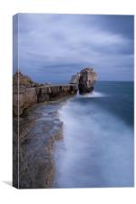 Portland Bill Seascapes, Canvas Print