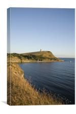 Kimmeridge bay in Dorset, Canvas Print