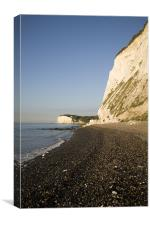 Morning at the White Cliffs of Dover, Canvas Print