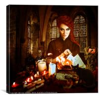 i'll put a spell on you, Canvas Print
