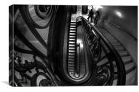 Staircases, Canvas Print