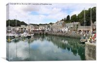 Padstow Harbour Cornwall, Canvas Print