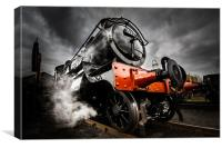 Steam Locomotive, Canvas Print