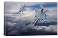 Wingman, Canvas Print