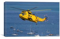 Westland Sea King HAR3A, Canvas Print