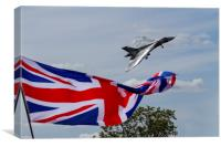 Vulcan XH558 final display at RIAT, Canvas Print