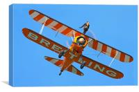 Breitling wing walker 5, Canvas Print