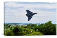 Vulcan Bomber EPIC take off RIAT 2015, Canvas Print