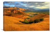 Hills of Wasatch National Forest, Canvas Print