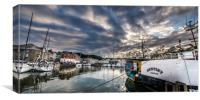Sunset in Padstow, Canvas Print