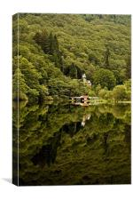 Jewel of the Trossachs, Loch Ard, Scotland, Canvas Print