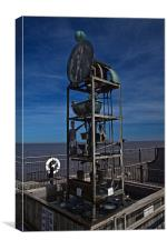 Southwold water clock, Canvas Print