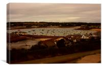 st maries, harbour Isle of Scilly, Canvas Print