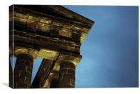 Pensher Monument, Canvas Print