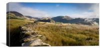 The Summer Fells of Coniston, Canvas Print