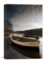 Ormesby boats, Canvas Print
