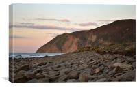 Foreland Point, Devon, Canvas Print