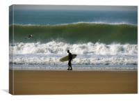 Surf's Up!, Canvas Print