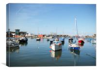 Brixham Harbour, Canvas Print