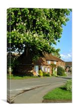 Wheelwrights Cottage, Wingrave, Canvas Print