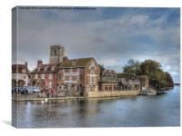 Wareham Quay, Canvas Print