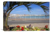Weymouth Seafront, Canvas Print