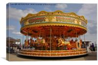 Merry Go Round, Canvas Print