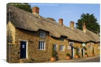 Thatched Cottages, Canvas Print