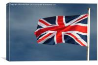 The Union Flag, Canvas Print