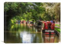 The Canal, Canvas Print