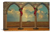 The Perfect View, Canvas Print