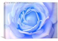 Blue Essence, Canvas Print