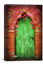 To The Secret Garden, Canvas Print
