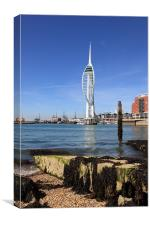 Spinaker Tower, Portsmouth, Canvas Print