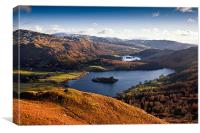 View of Grasmere & Rydal Water, Canvas Print