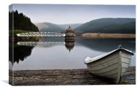 Talla Reservoir - Scottish Borders, Canvas Print