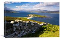 Loch Eriboll, Scottish Highlands, Scotland, Canvas Print