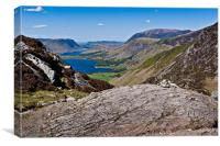 Buttermere View, Canvas Print