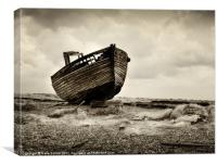 Dungeness Boat, Kent, Canvas Print