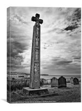 The Cross, Whitby, North Yorkshire, Canvas Print