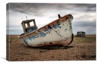 The Trawler, Dungeness, Canvas Print