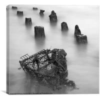 Lobster Pot, Cromer, Norfolk, Canvas Print