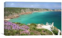 View from The Minnack Theatre, Cornwall, Canvas Print